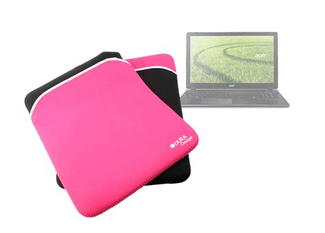 Casing Laptop Acer Aspire V5 black pink neoprene laptop bag for acer aspire v5 552