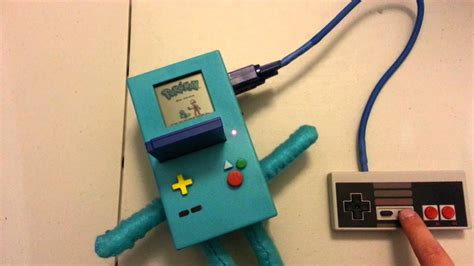 gameboy colour mod bmo gameboy color case mod youtube