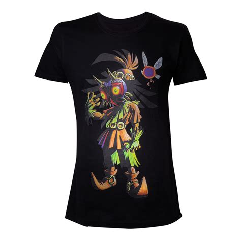 nintendo legend of s skull kid majoras mask t shirt medium black ebay