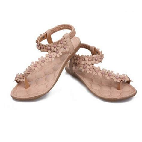 summer sandals for bohemia sandals for summer shoes flip beaded