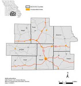 douglas texas map south central ozark mobroadbandnow