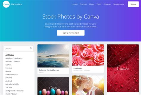 canva online website where to find stock photos for your wordpress website