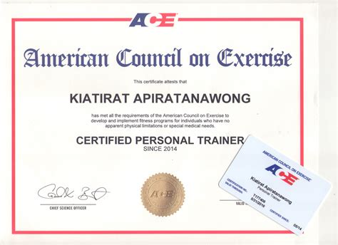 trainer certification ace certification 2014 my o fit