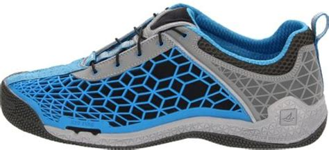 athletic boat shoes sperry top sider mens searacer athletic boat shoe in blue