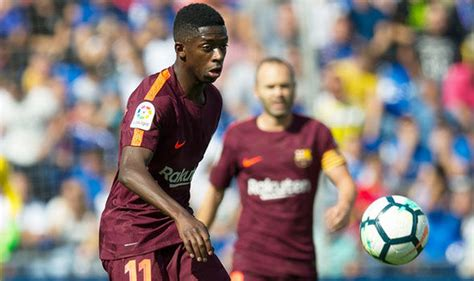 ousmane dembele injury report barcelona news ousmane dembele summer move to blame for