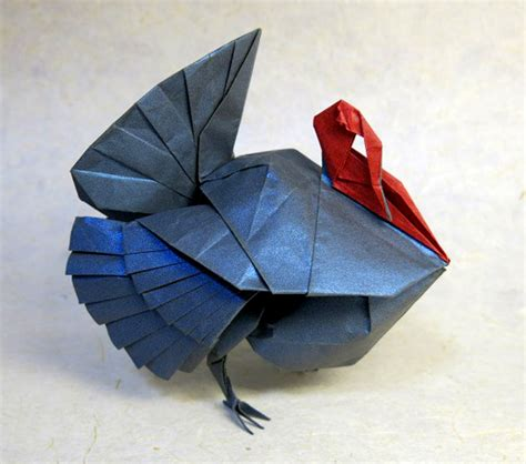 Turkey Origami - convention origami 2015