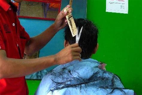 Pangkas Rambut Fleksibel worldnews pangkas rambut teknik nyala api ala pemuda gaza