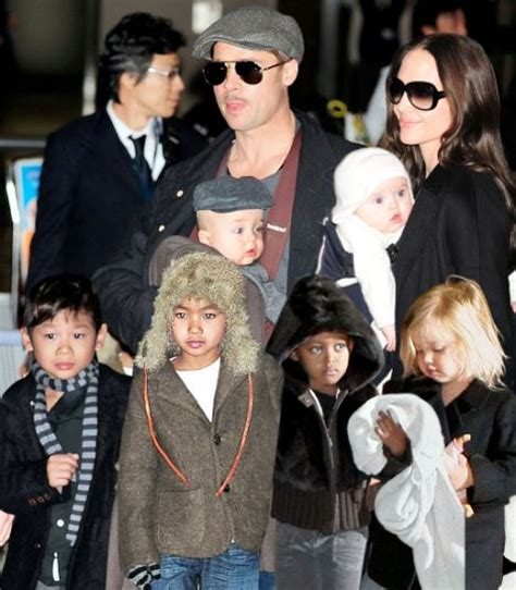 Pitt And Will Adopt Child Number Four by Says No More Children For At Least