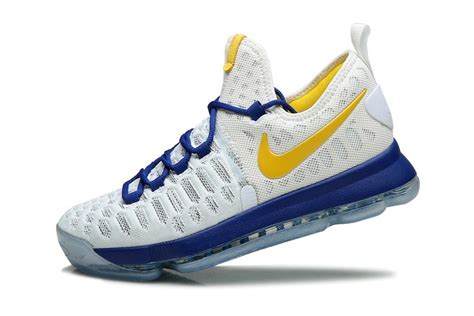 nike kd 9 kevin durant basketball shoes white blue