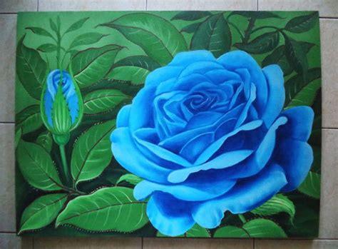 contoh lukisan bunga teratai erectronic
