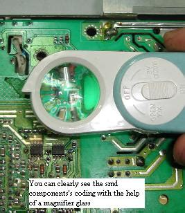 samsung capacitor replacement guide samsung 153v repair