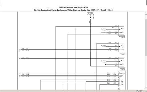 international 4700 wiring diagram with t444 engine 95 international 4700 t444e no start