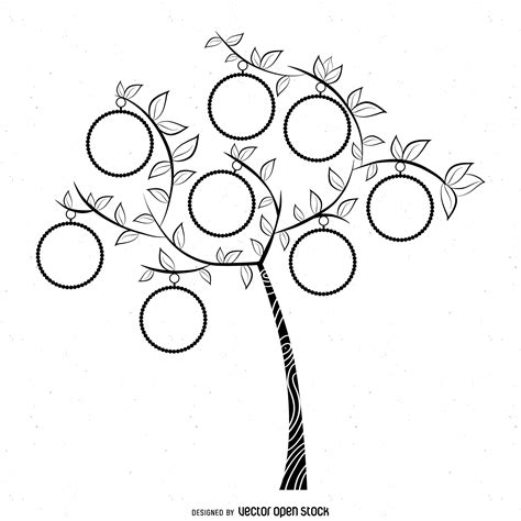 drawing a family tree template simple family tree drawing simple bw family tree template