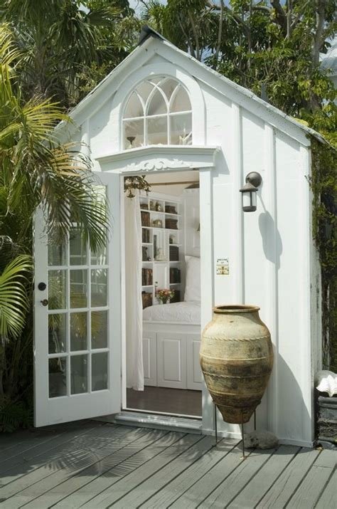 Shed Into Bedroom by A Tiny Shed Turned Guest Bedroom From Key West Friend S