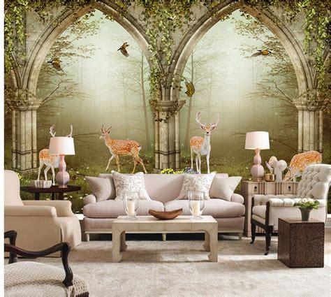 aliexpress com buy murals 3d wallpapers home decor photo aliexpress com buy 3d wall murals wallpaper forest roman