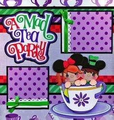 premade double scrapbook page layout alice in wonderland 1000 images about alice in wonderland layouts on