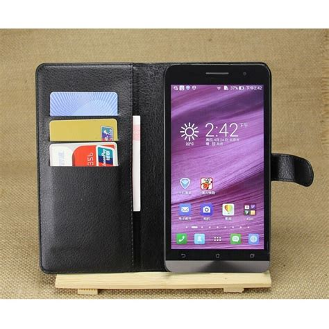 Leather Wallet For Asus Zenfone 5 Limited leather wallet for asus zenfone 5 black jakartanotebook