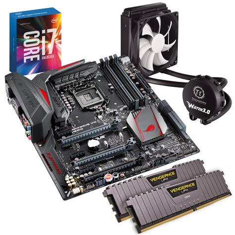 special ops i7 6700k cpu 16gb ram titanium motherboard and processor bundle ebay