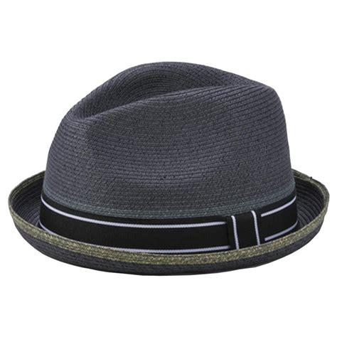 style hats grace hats mens fedora trilby panama style grey