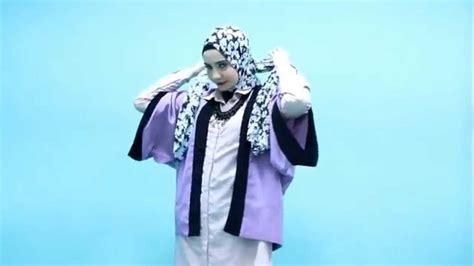 tutorial berhijab zaskia sungkar tutorial hijab zaskia sungkar simple trendy youtube
