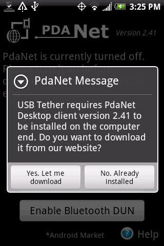 pda net desktop pdanet desktop