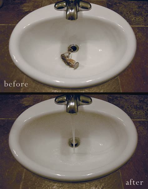 how to unclog sink bathroom how to un clog your bathroom sink a clean bee