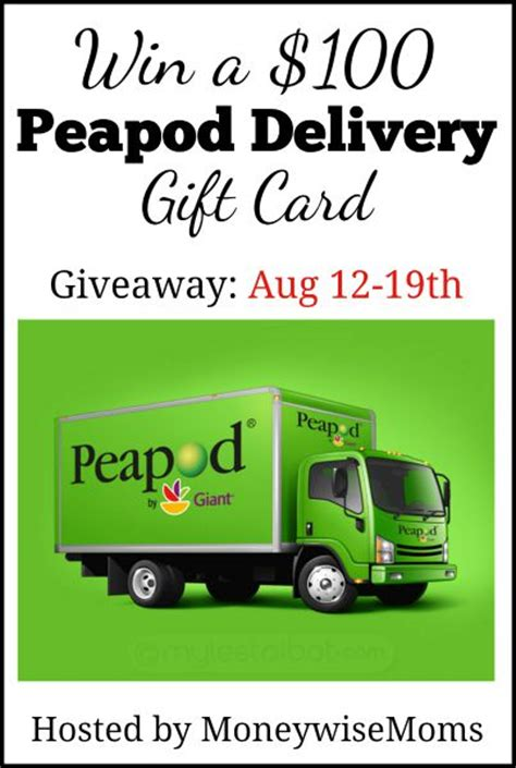 Peapod Gift Card - shop peapod online moneywise moms