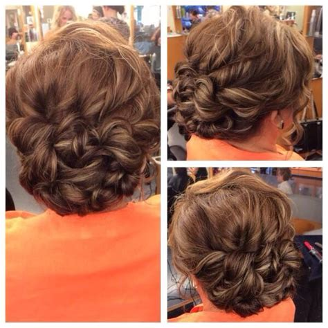 mother of the bride hairstyle by izzy updos in 2019