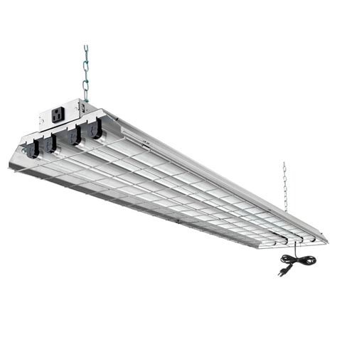 4 shop light 4 light wireguard fluorescent light fixture 48 quot rona