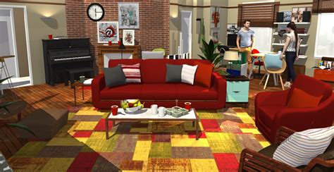 Ted S Kitchen by How I Met Your Apartment In 3d Homebyme