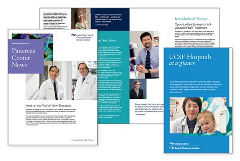 Templates And Exles Ucsf Brand Identity Ucsf Poster Template