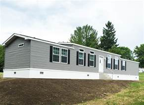Wide Mobile Home by 1a133a Single Wide Manufactured Home Exterior