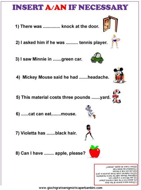 tradurre testi da inglese a italiano esercizi inglese a an esercizi in inglese
