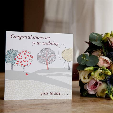 Wedding Congratulations In by Congratulations On Your Wedding Card By From You To Me