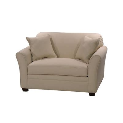 twin sofa chair ludlow twin sleeper loveseat wayfair