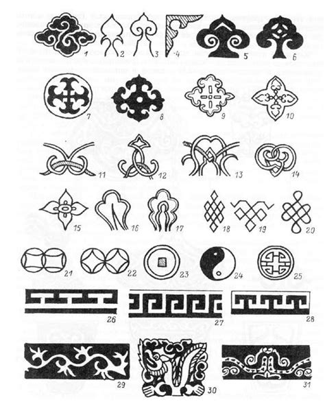 mongolian tribal tattoo mongolian tribal writing search colour pattern