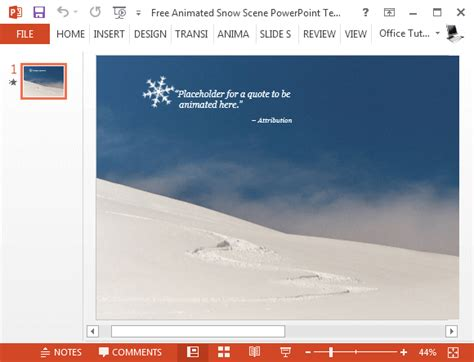powerpoint templates free snow free animated snow powerpoint template