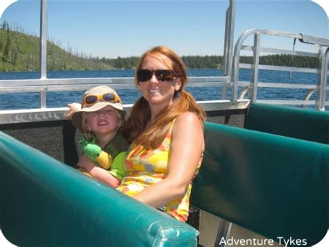 boat ride jenny lake another trip to grand teton national park adventure tykes