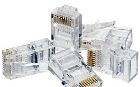 Conector Rj 45 Isi 50 Pcs Pack que es el conector rj45 tuelectronica es