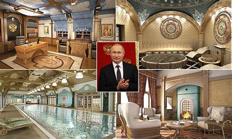 home daily mail inside vladimir putin s new russian home daily