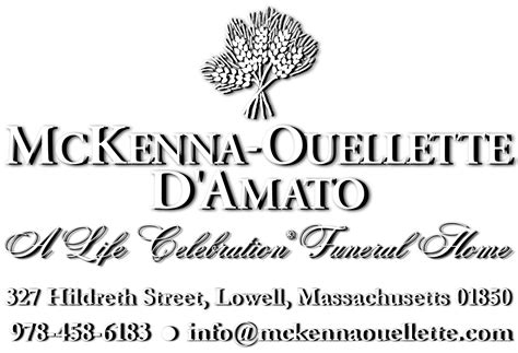 mckenna ouellette funeral home