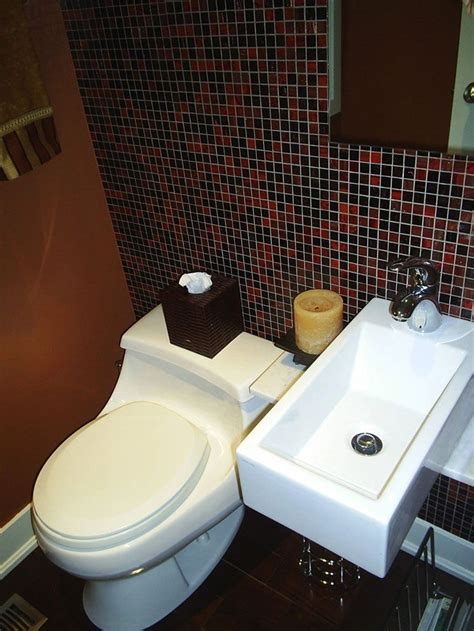 super small bathroom ideas super small 1 2 bath for basement for the home pinterest