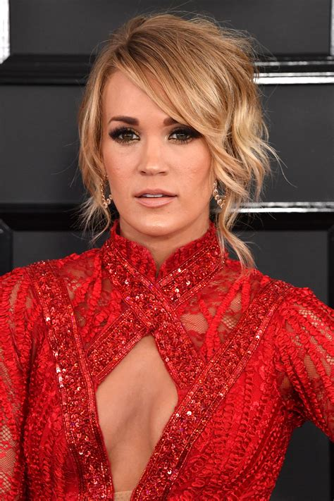 Carrie Underwood Updo Hairstyles by All The Best Grammy Awards Hairstyles 2017