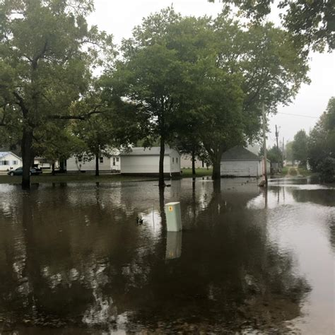 USA   Severe Flooding in 3 Midwestern States, 2 Dead in