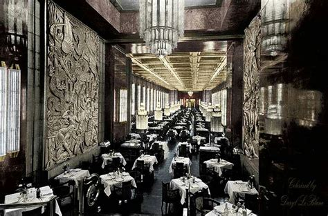 ss normandie  le granger dining hall aboard