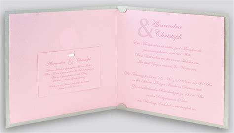 Hochzeitseinladung Grau Rosa by Hochzeitskarte Grau Metallic Rosa Mit Silbernem Folien