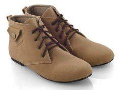 Leather Shoes Everflow jual boots wanita terbaru termurah lazada co id