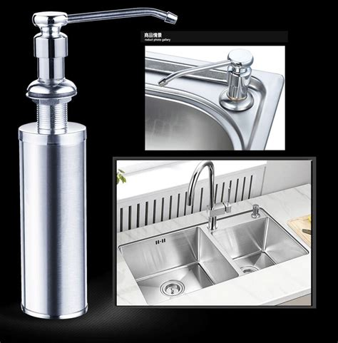 Kitchen Sink Detergent Dispenser Authentic High Quality New Kitchen Soap Dispenser Sink Liquid Dispensers Detergent Bottle