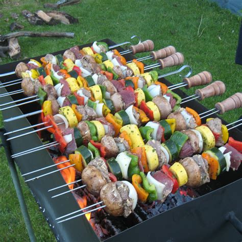 summer on a stick welcome grilling season with these 18 image gallery skewer