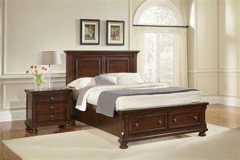 bassett furniture bedroom sets dark cherry night stand vaughan bassett furniture buy reflections cherry nightstand